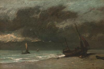 Jules Dupré, 'Bord de Mer', ca. 1870