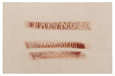 Leon Golub, 'Facings (Hand Signed)', 1986