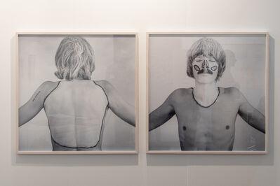 Timm Ulrichs, 'Die weißen Flecken meiner Körperlandschaft', 1968