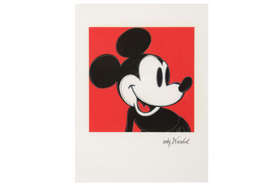 Andy Warhol, 'Mickey Mouse', 1980s