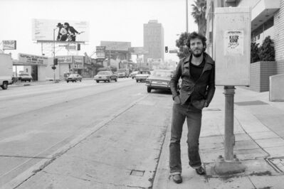 Terry O'Neill, 'Bruce Springsteen Sunset Strip, Los Angeles', 1975