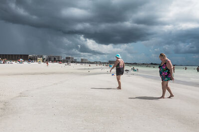 Deb Achak, 'Storm Clouds, Siesta Key Beach', 2019