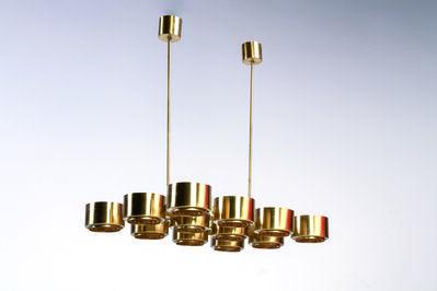 Hans Agne Jakobsson for Markaryd AB, 'Ceiling lamp', vers 1960