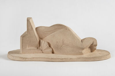 Henri Laurens, 'Femme couchée à l'éventail', 1922