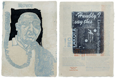 Daniel Heyman, 'In Our Own Words: Native Impressions: It Helped Us to Breathe', 2015-2016