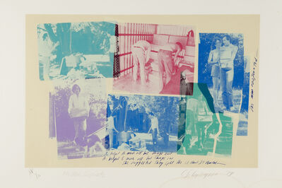 Carolee Schneemann, 'The Men Cooperate', 1979