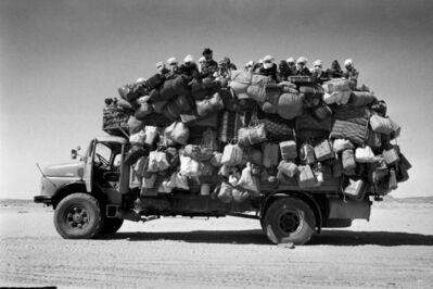 Raymond Depardon, 'Libyan truck transporting people between Chad and Libya', 1978