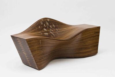 """Bae Se Hwa, '""""Steam 12"""" lounge chair in steam-bent walnut', 2010"""