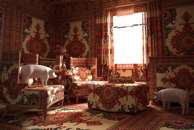 Farid Rasulov, 'Pigs in the lounge', 2014