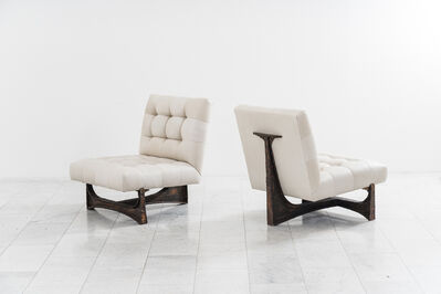 Paul Evans (1931-1987), 'Paul Evans, Forged Steel Lounge Chairs, USA', 1960-1969