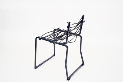 Jean-Pascal Flavien, ''Mutilated manufacturers will stab skulls' Chair', 2019