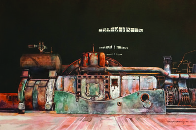 Carolyn Latanision, 'Powered Down, Bethlehem Steel'