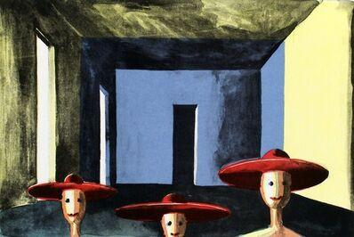 Thomas Huber (b.1955), 'Drei Gesellen 1992', 1993