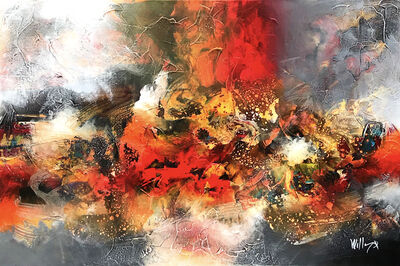 William Malucu, 'Spirit of passion ', 2019