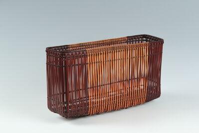 """Oguni Kimiko, '""""Cherry Blossom Hill"""" Bamboo Basket (T-3716)', ca. 2004"""