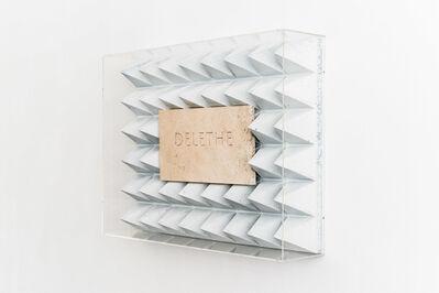 Nik Nowak, 'Delethe (Edition) ', 2015