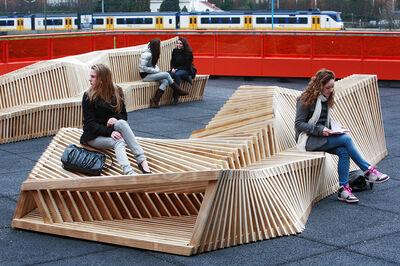 Remy & Veenhuizen, 'Reef Bench', 2010