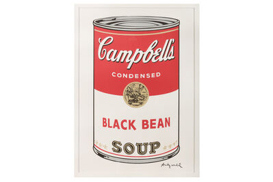Andy Warhol, 'Campbell's Soup - Black Bean'