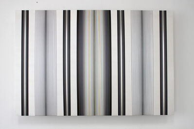 Brian Wills, 'Untitled (silver and grey)', 2015