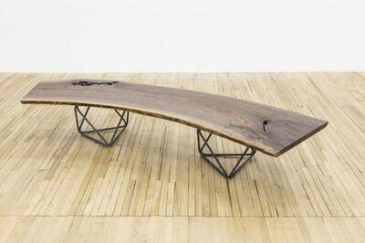 Christian Wassmann, 'Octahedron Bench / Coffee Table', 2015