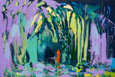 Paul Wadsworth, 'Reflections of an Orange Sari', 2017