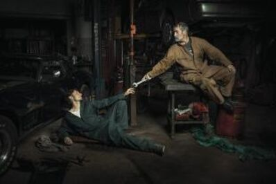 Freddy Fabris, 'The Creation Of Adam - Renaissance Series', 2015