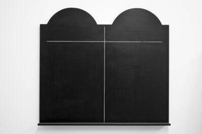 Alona Rodeh, 'Black 10 Commandments', 2014