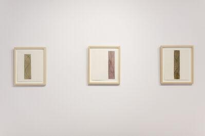 Robert Mangold, 'Untitled (three Column drawings)', 2003
