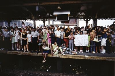 Paul Fusco, 'Untitled from RFK Funeral Train', 1968/ Printed 2008