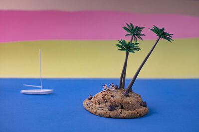 Christopher Boffoli, 'Chocolate Chip Cookie Island', 2020