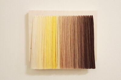 Bumin Kim, 'Accumulation (Yellow and Brown)', 2016