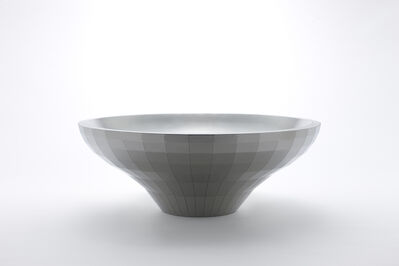 Chung Yongjin, 'Shallow Round Bowl with 252 Facets', 2016
