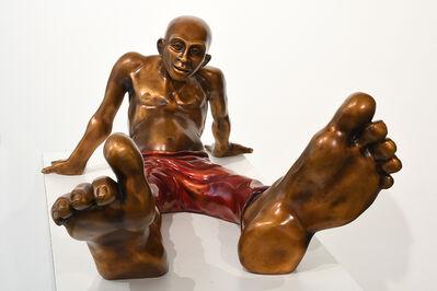 Idan Zareski, 'Bigfoot (with red pants)', 2019