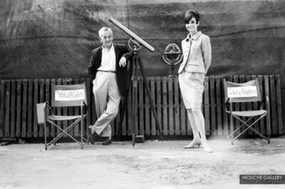 Terry O'Neill, 'Audrey Hepburn and William Wyler', 1966