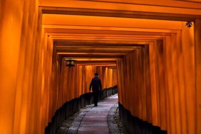 Steve McCurry, 'Fushimi Inari Shrine, Japan', 2007