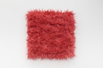 Sylvie Fleury, 'Cuddly (Strawberry Pink)', 2020