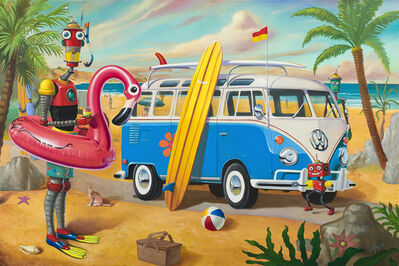 Geoffrey Gersten, 'Beach Day', 2019