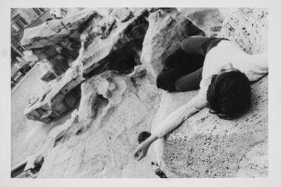 Luca Maria Patella, 'Emilio dorme a Trevi (omaggio a Jean Jacques Rousseau)', 1973