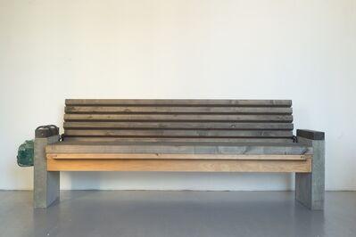 VYTAUTAS VIRŽBICKAS, ' A bench for homeless', 2016