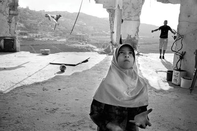 Rania Matar, 'Juggling, Aita El Chaab Lebanon. ', 2006