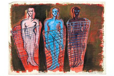 Elvira Bach, 'Gleich geht's los', 1993