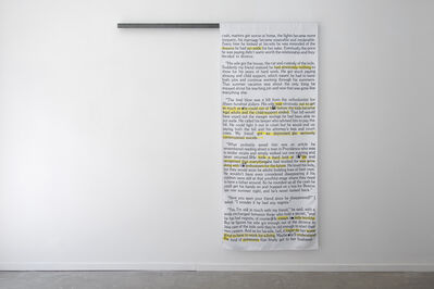 Sarah Derat, 'The Disappearee', 2017