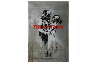 After Banksy, 'Blur - Think Tank', 2003