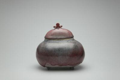 Shin Fujihira, 'Cinnabar Incense Burner', 1990