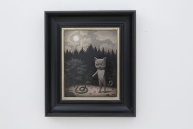 Marion Peck, 'Cat, Snake & Moon', 2020