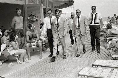 Terry O'Neill, 'Frank Sinatra on the Boardwalk', 1968