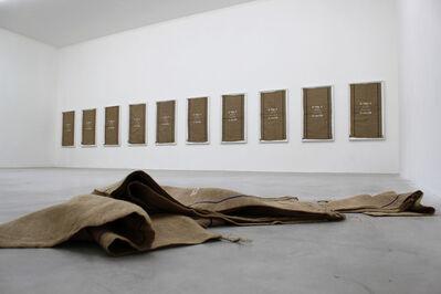 Matias Faldbakken, 'Untitled (D.ou/CH) #1-10', 2013