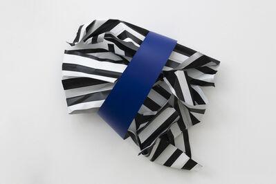 Nora Shields, 'Sash Painting (Shock Violet)', 2018