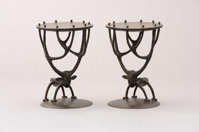 Jean-Marie Fiori, 'Deer Side Tables', 2003