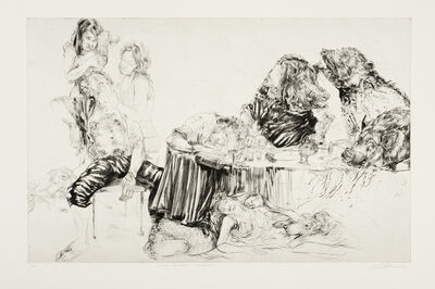 Diane Victor, 'Last Supper – Enswined', 2011